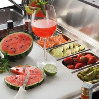 Comptoir à cocktails