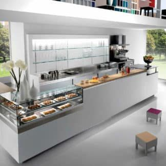 Bar et comptoir réfrigéré